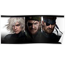 Metal Gear Trio  Poster