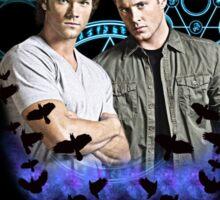 Devils Gate- Supernatural - Sam & Dean Sticker