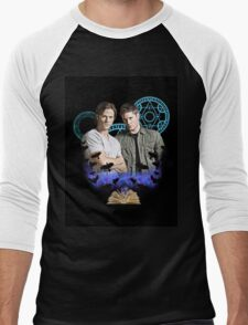 Devils Gate- Supernatural - Sam & Dean Men's Baseball ¾ T-Shirt