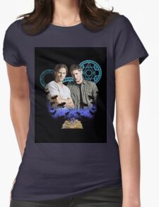 Devils Gate- Supernatural - Sam & Dean Womens Fitted T-Shirt