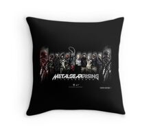 Metal Gear Rising Throw Pillow