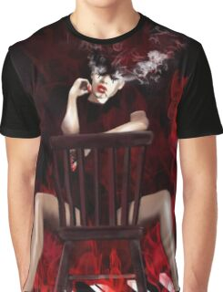 Girl On Fire Graphic T-Shirt