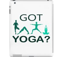 Got Yoga iPad Case/Skin