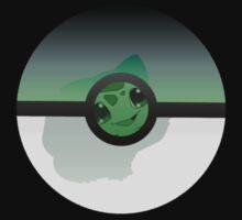 Pokemon 20th Pokeball Bulbasaur tshirt tee by Lunikao