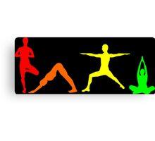 Yoga Multi Canvas Print