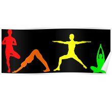 Yoga Multi Poster