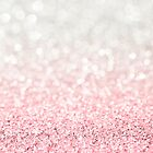 Pink Ombre Glitter by heartlocked
