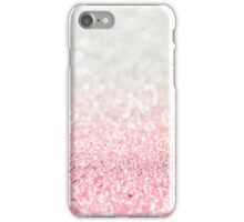 Pink Ombre Glitter iPhone Case/Skin