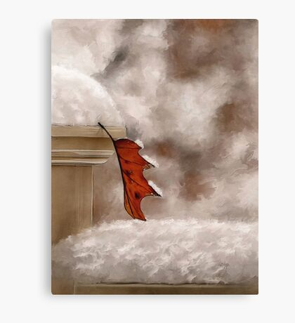 Alone Painterly Canvas Print