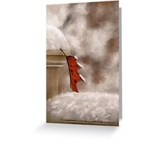 Alone Painterly Greeting Card