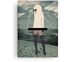 She the ghost Canvas Print
