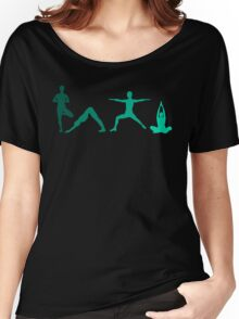 Yoga Blue Women's Relaxed Fit T-Shirt