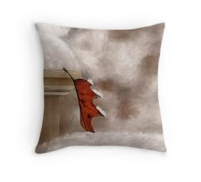 Alone Painterly Throw Pillow