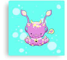 Monster Octo-Kitty Canvas Print