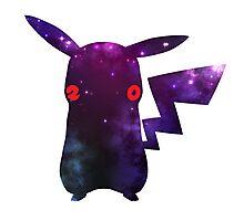 Pokemon 20th Year Anniversary pikachu galaxy kawaii Photographic Print