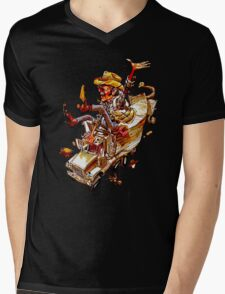 Jerry and the Bandit. Awesome mashup. Mens V-Neck T-Shirt