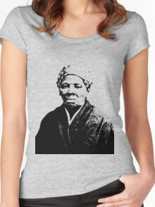 HARRIET TUBMAN Women's Fitted Scoop T-Shirt