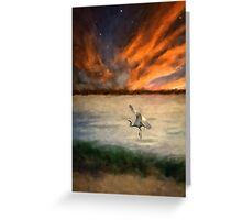 For Just This One Moment Greeting Card