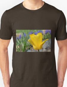 Yellow Tulips with Purple T-Shirt
