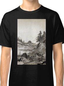 Sesshū Tōyō Autumn Landscape Classic T-Shirt