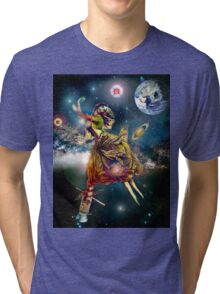 Space Gypsy Collaboration with Trenas. Tri-blend T-Shirt