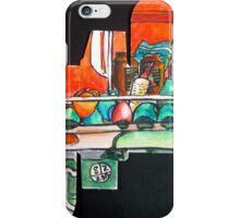 cups on the coffee machine iPhone Case/Skin