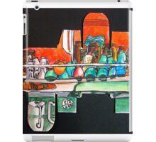 cups on the coffee machine iPad Case/Skin