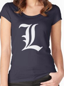 L - version 2 - white Women's Fitted Scoop T-Shirt