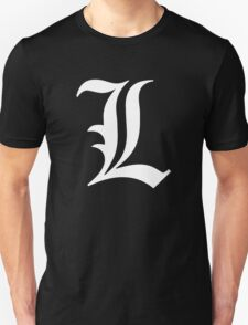 L - version 2 - white Unisex T-Shirt
