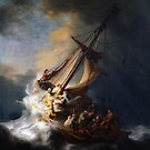 The Storm on the Sea of Galilee by warishellstore