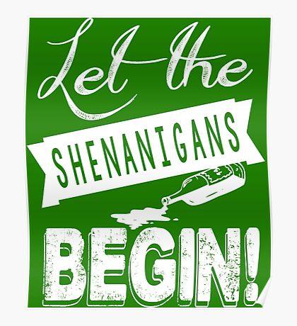 Saint Patricks Day Shenanigans Poster