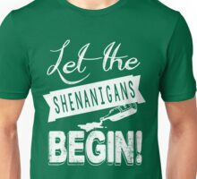 Saint Patricks Day Shenanigans Unisex T-Shirt