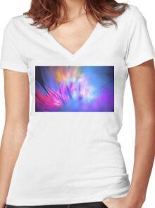 Winter Magnolia Women's Fitted V-Neck T-Shirt
