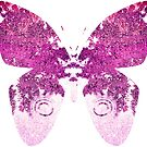 Pink Butterfly  by Deborah McGrath