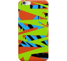 Fun Bright Colored Pattern iPhone Case/Skin