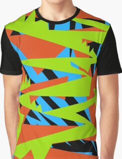 Fun Bright Colored Pattern Graphic T-Shirt