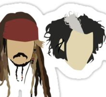 Johnny Depp - Characters Sticker