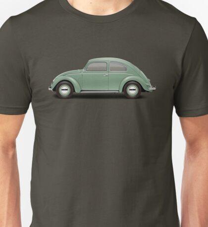 1951 Volkswagen Beetle - Pastel Green Unisex T-Shirt