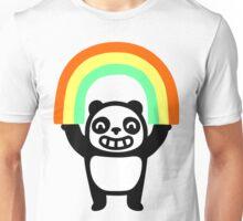 Panda Found A Rainbow Unisex T-Shirt