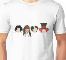 Johnny Depp - Characters Unisex T-Shirt