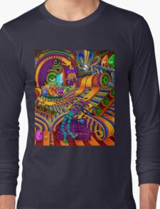 The Conductor of Consciousness Long Sleeve T-Shirt