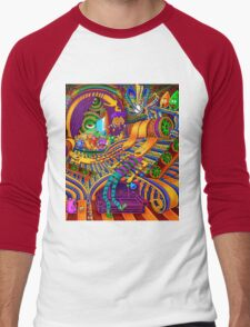 The Conductor of Consciousness Men's Baseball ¾ T-Shirt