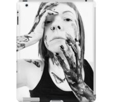(Homage to) Oh cruel darkness embrace me iPad Case/Skin
