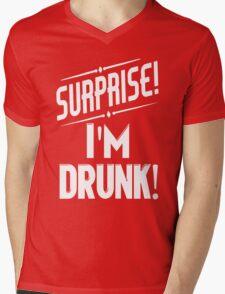Surprise I'm Drunk St Paddys Day Mens V-Neck T-Shirt