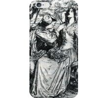 It Was a Lover and His Lass iPhone Case/Skin