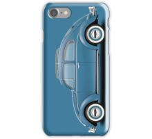 1961 Volkswagen Beetle - Gulf Blue iPhone Case/Skin