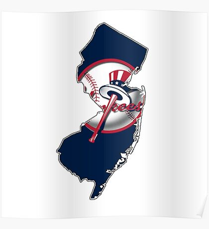 New york Yankees - new jersey fan Poster