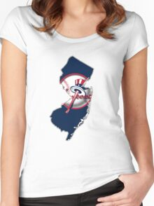 New york Yankees - new jersey fan Women's Fitted Scoop T-Shirt