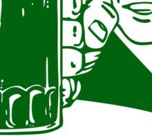 Irish Cheers For Saint Patricks Day Sticker