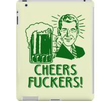 Irish Cheers For Saint Patricks Day iPad Case/Skin